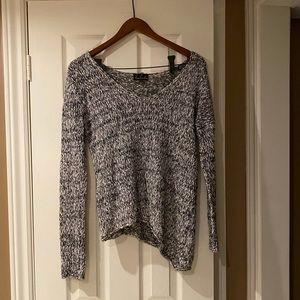 Talula Knit Black and White Sweater